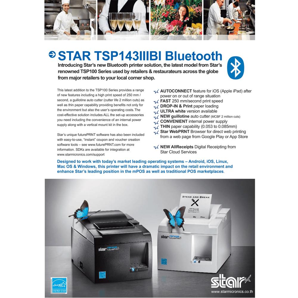 07 - TSP100IIIBi Product Sheet Starmicronics