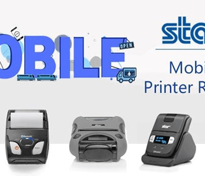 Compact, easy to use and reliable mobile receipt and label printers from Star