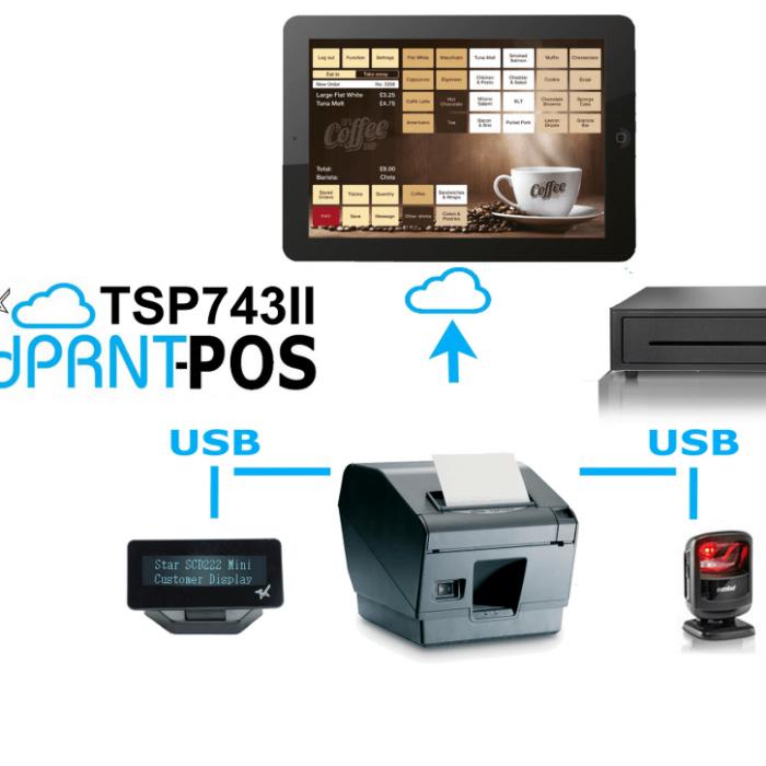 TSP743II-CloudPRNT-POS Starmicronics